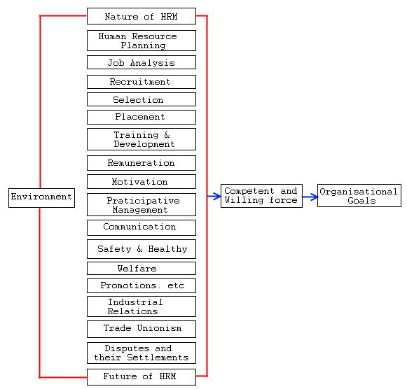 model of hrm