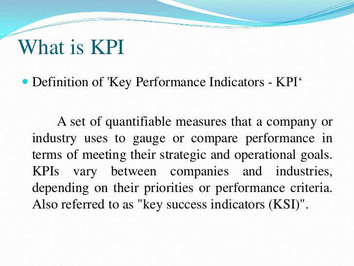 What Is Kpi Human Resource Management
