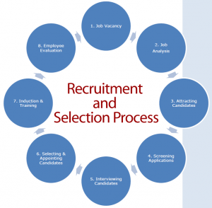 human resources testing and selection process Recruitment and selection process interact with other systems equally recruitment and selection process are correlated for the success of the organization, as per the planning and strategic approach pursued by the human resource management.